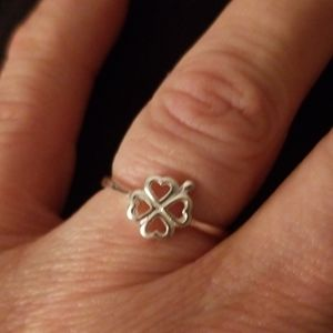 4leaf clover ring